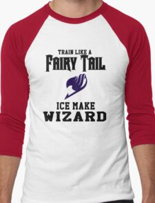 Fairy Tail - Train like Gray! Men's Baseball ¾ T-Shirt
