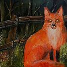 old red fox by firstglance