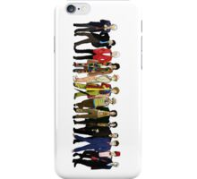 Doctor Who - Alternate Costumes 13 Doctors iPhone Case/Skin