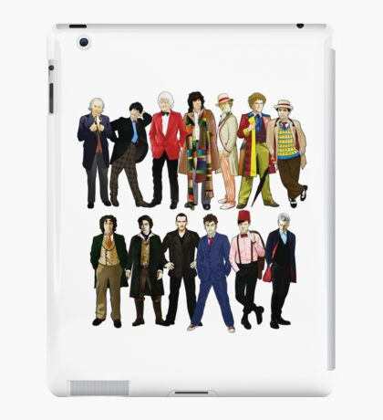 Doctor Who - Alternate Costumes 13 Doctors iPad Case/Skin