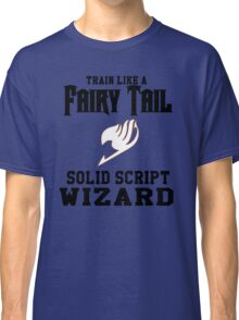 Fairy Tail - Train like Levy! Classic T-Shirt
