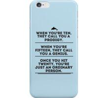 When you're... - Haruka Nanase iPhone Case/Skin