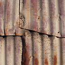 Rusty Wall by Tama Blough