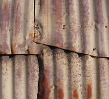 Rusty Wall by Tama Blough