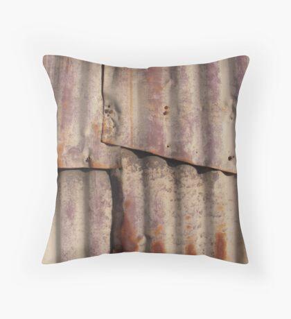 Rusty Wall Throw Pillow