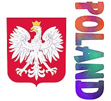 Poland - Coat of Arms Photographic Print