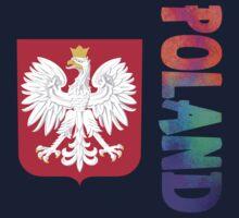 Poland - Coat of Arms Kids Tee
