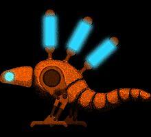 Bipedal Steam Gecko by Matthew Chamberlain-Keen