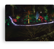 Night in the Sunken Garden (7) Canvas Print