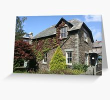 Old Flint House, Ambleside, Lake District Greeting Card