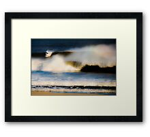 In the Wave Framed Print