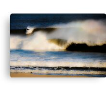 In the Wave Canvas Print