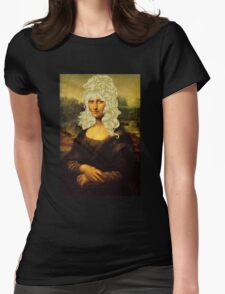 Blonde Mona Lisa  Womens Fitted T-Shirt