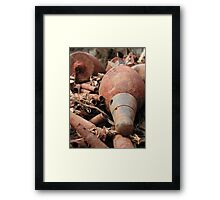 Treasures of the Past Framed Print