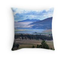 Lake and Nicola Valley Throw Pillow
