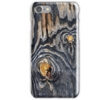 Wood knots .2 iPhone Case/Skin