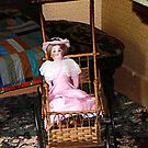Doll in Carriage by Susan Savad