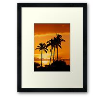 6:15 PM Hawaii Time Framed Print