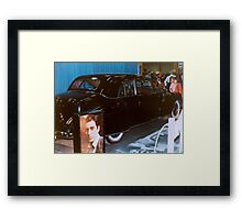 Godfather Limo Framed Print