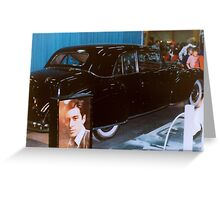 Godfather Limo Greeting Card