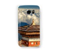 a historic Bhutan landscape Samsung Galaxy Case/Skin