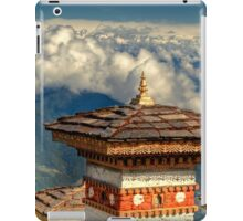 a historic Bhutan landscape iPad Case/Skin