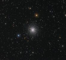 Globular star cluster (M13) by Igor Chekalin
