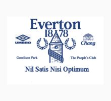 Everton Football Club Kids Clothes