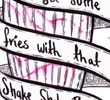 Shake Shake Booty Sticker