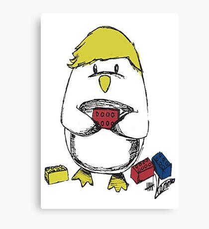 Hemmo's Penguin Canvas Print
