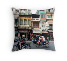 Street Abstract Throw Pillow