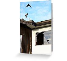 Urban renewal, anthropomorphic Greeting Card