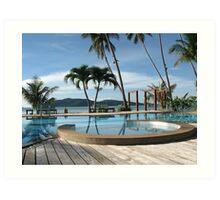 Tropical Paradise in Thailand Art Print