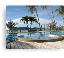 Tropical Paradise in Thailand Metal Print