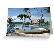 Tropical Paradise in Thailand Greeting Card