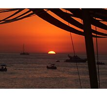 Baleric Sunset Photographic Print