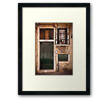 Una casa veneziana Framed Print