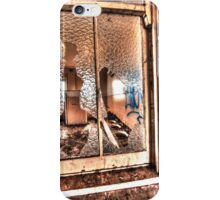 Shattered window. iPhone Case/Skin