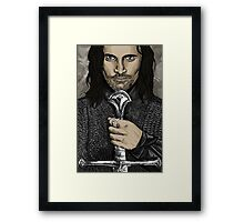 Aragorn Framed Print