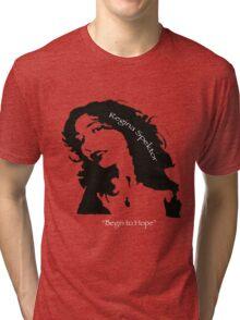 Regina Spektor - Begin to Hope Tri-blend T-Shirt