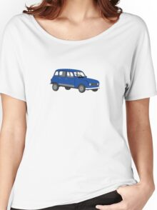 Renault 4 GTL Blue Women's Relaxed Fit T-Shirt