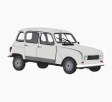 Renault 4 GTL Grey One Piece - Long Sleeve