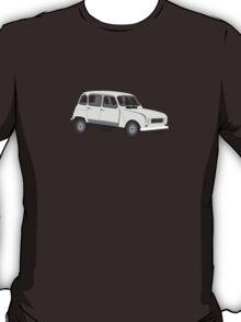 Renault 4 GTL Grey T-Shirt