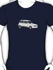 Renault 4 GTL Grey T-Shirt