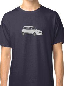 Renault 4 GTL Grey Classic T-Shirt