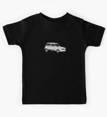 Renault 4 GTL Grey Kids Tee