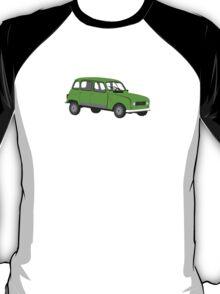Renault 4 GTL Green T-Shirt