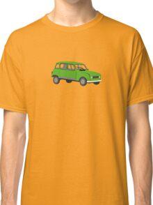 Renault 4 GTL Green Classic T-Shirt