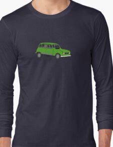 Renault 4 GTL Green Long Sleeve T-Shirt
