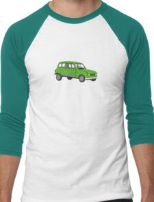 Renault 4 GTL Green Men's Baseball ¾ T-Shirt